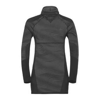 Odlo PERFORMANCE BLACKCOMB - Sous-couche Homme black/concrete grey/silver