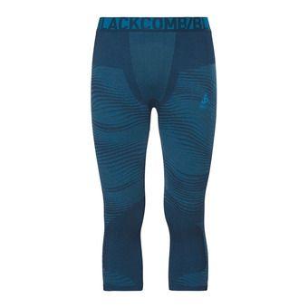 Odlo PERFORMANCE BLACKCOMB - 3/4 Tights - Men's - poseidon/blue jewel/atomic blue