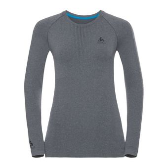 Odlo PERFORMANCE WARM - Camiseta térmica mujer heather grey/black