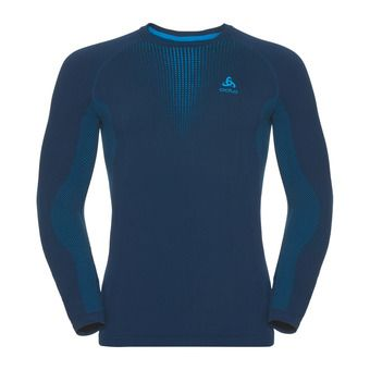 Odlo PERFORMANCE WARM - Camiseta térmica hombre poseidon/blue jewel
