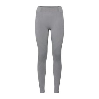 Mallas mujer PERFORMANCE WARM grey melange/black