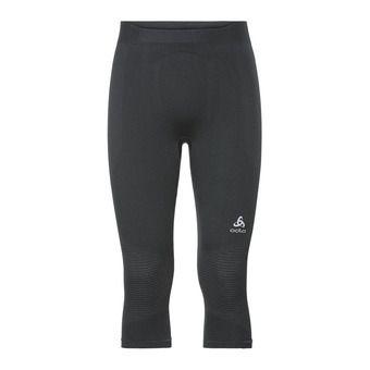 Odlo PERFORMANCE WARM - 3/4 Tights - Men's - black/concrete grey
