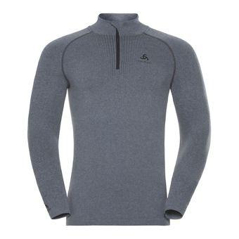 Odlo PERFORMANCE WARM - Base Layer - Men's - grey marl/black