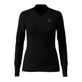 Camiseta térmica mujer ACTIVE ORIGINALS WARM V black