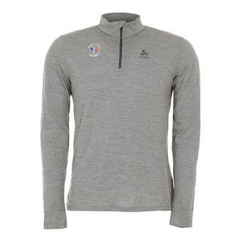 Camiseta térmica hombre NATURAL 100% grey melange/grey melange