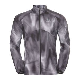 Chaqueta hombre OMNIUS LIGHT 18 concrete grey/black/aop