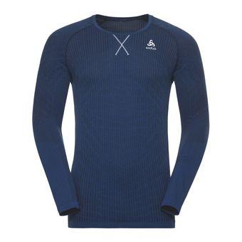 T-shirt ML EVOLUTION LIGHT Blackcomb Homme diving navy - sodalite blue