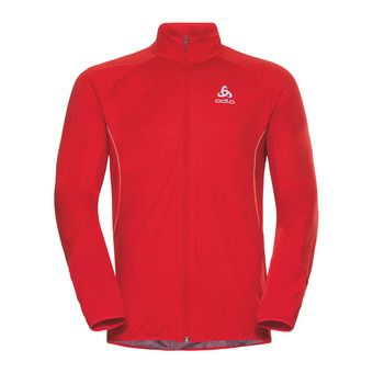 Odlo ZEROWEIGHT WARM - Chaqueta hombre fiery red
