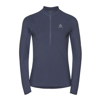 Odlo ZEROWEIGHT WARM - Sweat Femme odyssey grey
