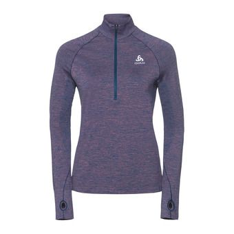 Odlo IRBIS WARM - Sweat Femme poseidon/mesa rose