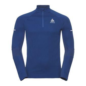 Sweat 1/2 zip homme OMNIUS WARM sodalite blue