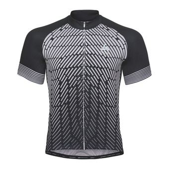 Maillot MC homme FUJIN PRINT LIGHT black/silver grey
