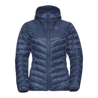 Odlo AIR COCOON - Anorak mujer diving navy