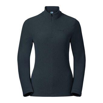 Odlo ROY - Fleece - Women's - shale grey/black stripes