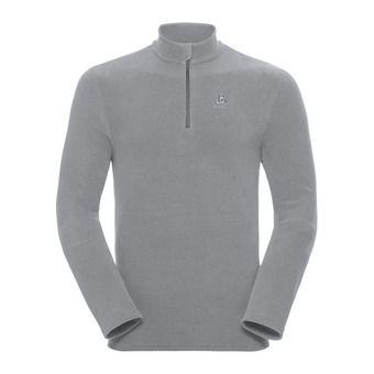 Polaire 1/2 zip homme ROY platinum grey/steel grey/stripes