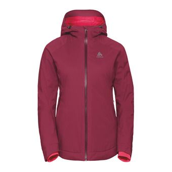 Odlo FLOW COCOON - Chaqueta mujer rumba red