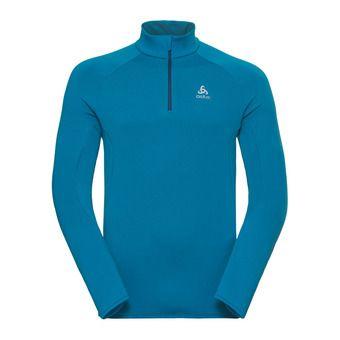 Sweat 1/2 zip homme CARVE WARM blue jewel