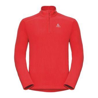Sweat 1/2 zip homme BERNINA fiery red