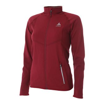 Odlo VELOCITY LIGHT - Chaqueta mujer rumba red/hibiscus