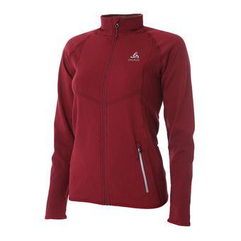 Odlo VELOCITY LIGHT - Jacket - Women's - rumba red/hibiscus