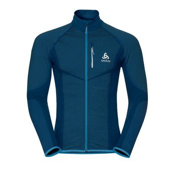 Odlo VELOCITY LIGHT - Veste Homme poseidon/blue jewel