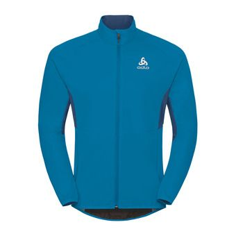 Odlo AEOLUS ELEMENT WARM - Chaqueta hombre blue jewel/poseidon
