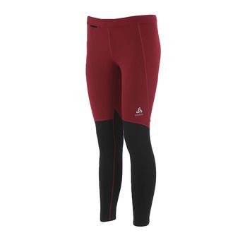 Odlo XC LIGHT - Mallas mujer rumba red/black
