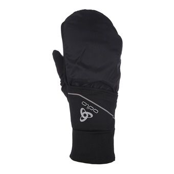 Odlo INTENSITY COVER SAFETY LIGHT - Gants 2 en 1 black