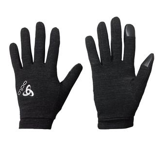 Gloves - NATURAL + WARM black
