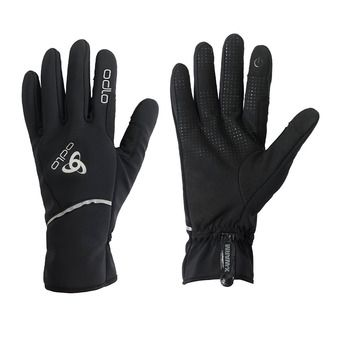 Odlo WINDPROOF X-WARM - Guantes black