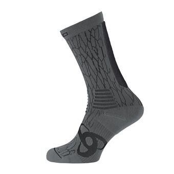 Chaussettes CERAMICOOL LIGHT black/steel grey