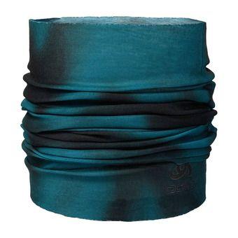 Braga para el cuello PRINTED LIGHT blue coral/black