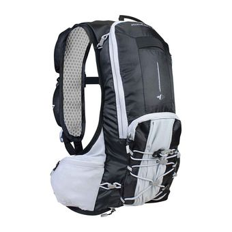 Mochila de hidratación 8L TRAIL XP black/light grey + 2 botellines 200ml