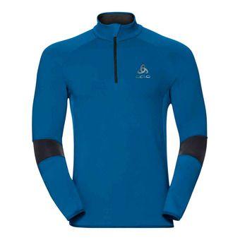 Sweat 1/2 zip homme DIOXINE mykonos blue/odlo graphite grey
