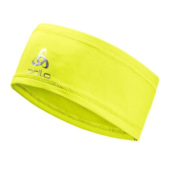 Odlo POLYKNIT LIGHT - Cinta deportiva safety yellow