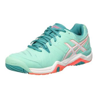 Chaussures tennis femme GEL-CHALLENGER 10 cockatoo/white/flash coral