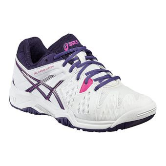 Chaussures tennis junior GEL-RESOLUTION 6 GS white/parachute purple/hot pin