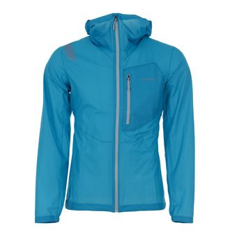 La Sportiva HAIL - Chaqueta hombre tropic blue/cloud