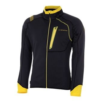 La Sportiva SHAMAL - Sweat Homme black/yellow