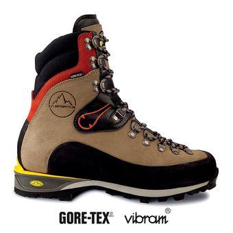 Zapatillas de alpinismo hombre KARAKORUM HC sand/red