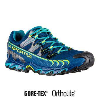 La Sportiva ULTRA RAPTOR GTX - Chaussures trail Homme indigo/apple green