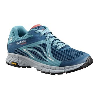 Columbia MOJAVE TRAIL II OUTDRY - Chaussures trail Femme phoenix blue sunset red