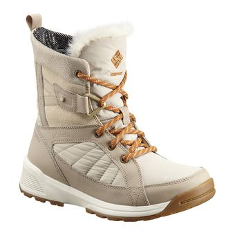 Columbia MEADOWS SHORTY OMNI-HEAT 3D - Après-ski mujer ancient fossil bright copper