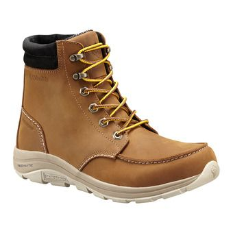 Columbia BANGOR BOOT OMNI-HEAT - Après-ski hombre tobacco bright copper