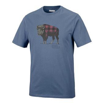 Tee-shirt MC homme CSC CHECK THE BUFFALO II dark mountain