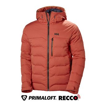 Helly Hansen SWIFT LOFT - Anorak hombre red brick
