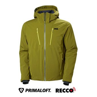Helly Hansen ALPHA 3.0 - Veste ski Homme fir green