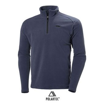 Polaire 1/2 zip homme DAYBREAKER graphite blue