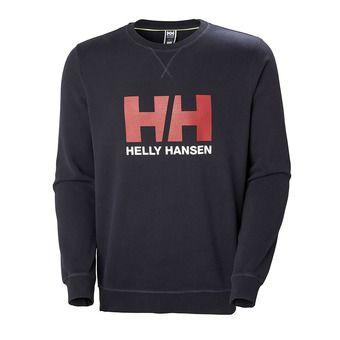 Helly Hansen HH LOGO CREW SWEAT - Sweatshirt - Men's - navy