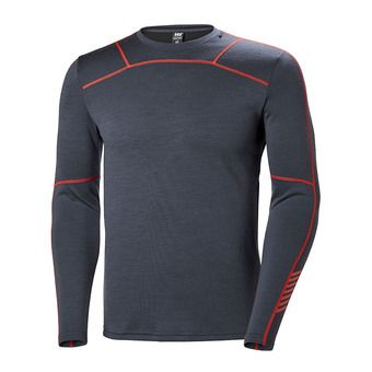 Camiseta térmica hombre LIFA MERINO graphite blue